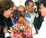 Dilma en Cuba
