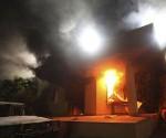 الهجوم على القنصلية في مدينة بنغازي ومقتل السفير الأمريكي في ليبيا