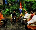 الرئيس الكوبي يستقبل وزير خارجية جامايكا
