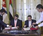 Visita Oficial a Cuba de su Alteza  El Jeque Abdullah Bin Zayed Al-Nahyan, Ministro de Asuntos Exteriores de los Emiratos Arabes Unidos