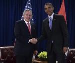 Raul y Obama