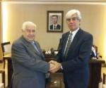 recibido_por_w_al_moallem_embajador cubano en Siria