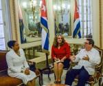 CUBA-LA HABANA-RECIBE BRUNO RODRÍGUEZ A LA SECRETARIA GENERAL DE LA ASOCIACIÓN DE ESTADOS DEL CARIBE