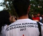 CUBA-SANCTI SPIRITUS-BRIGADA SURAMERICANA DE SOLIDARISDAD CO