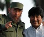 Evo y Fidel